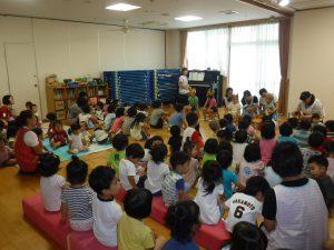 スペシャルゲスト来園!!7月の誕生会